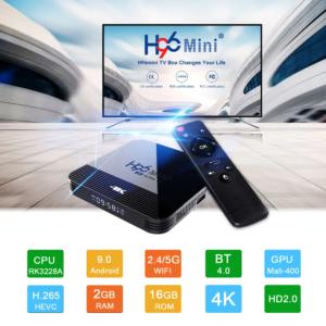 H96 MINI H8 TV BOX