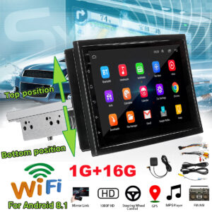 7 inch 1 Din pentru Android 8.1 Car Stereo Radio Multimedia Player