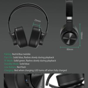 BlitzWolf® BW-HP2 bluetooth V5.0