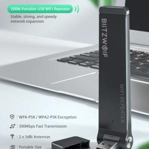 BlitzWolf® BW-NET4 Wireless Repeater 300Mbps