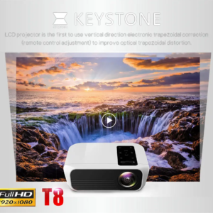 Videoproiector Led Android 4500 lumeni FULL HD Nativ 4K suport