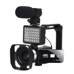 Camera Video 4k,48 mp,WIFI App Control,Streaming Video Youtube,Live Video,Microfon,Neagra