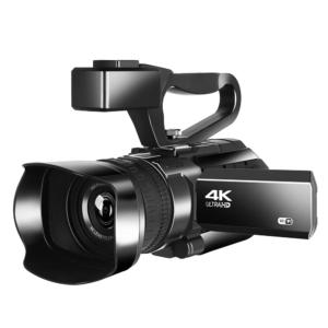 Camera video 4k. Live Streaming,48MP,Night Vision,30x zoom,WIFI,Neagra